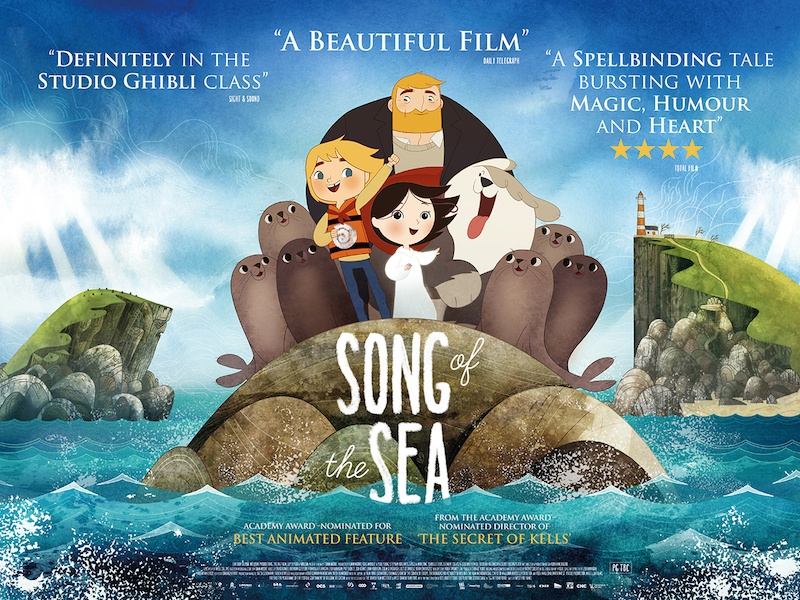Kila Soundtrack - Oscar Nominated 'Song of the Sea' Opens 10 July