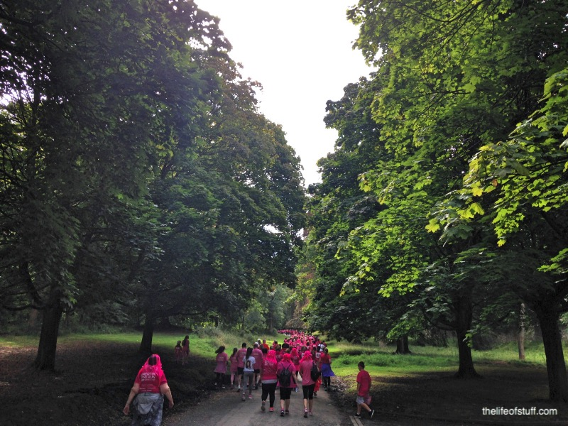 Great Pink Run 2015 - Our Experience in Photo's