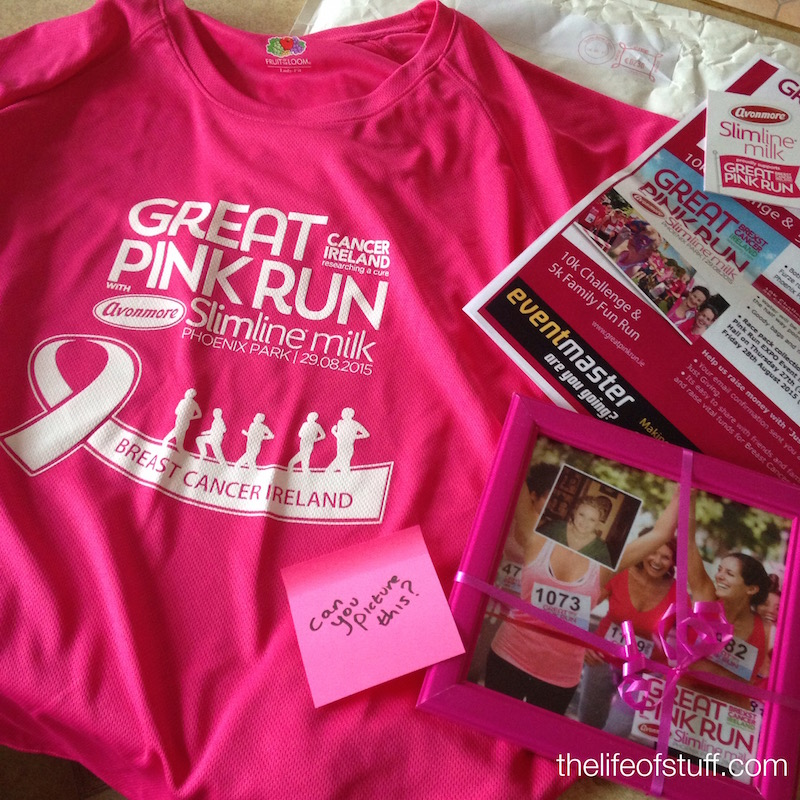 Great Pink Run - Breast Cancer Ireland - No Excuses / Get Involved