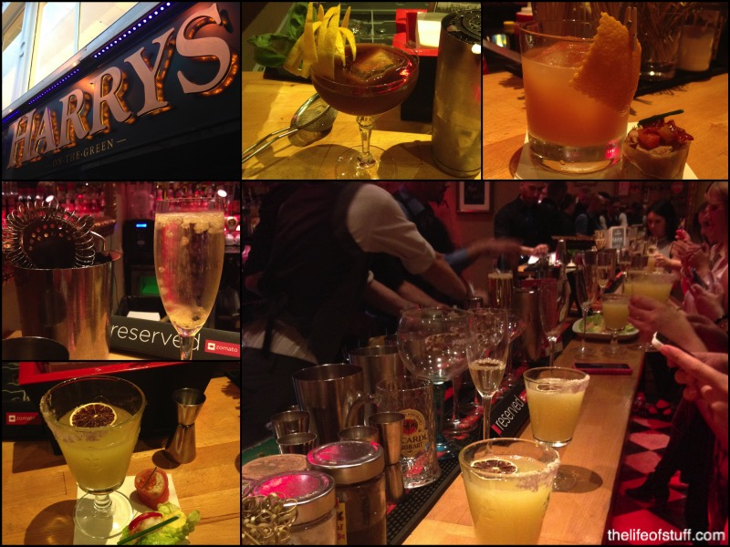 My Cocktail Masterclass at Harry's on the Green, Dublin 2