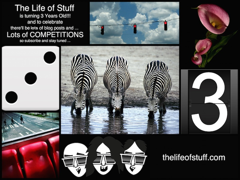 The Life of Stuff is Turning 3 Years Old in August