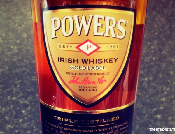 Bevvy of the Week - Powers Hot Whiskey