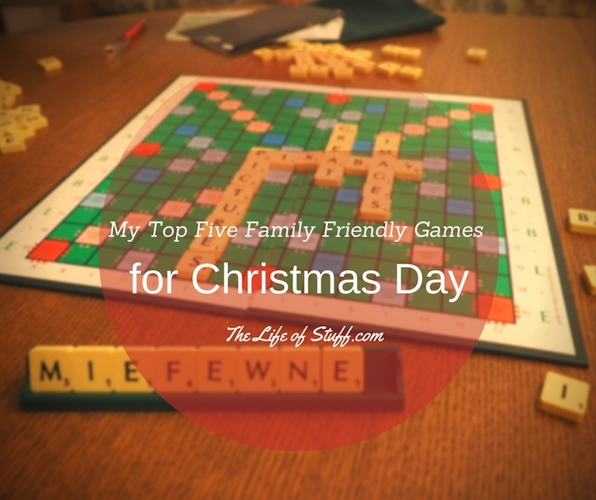 My Top Five Family Friendly Games for Christmas Day