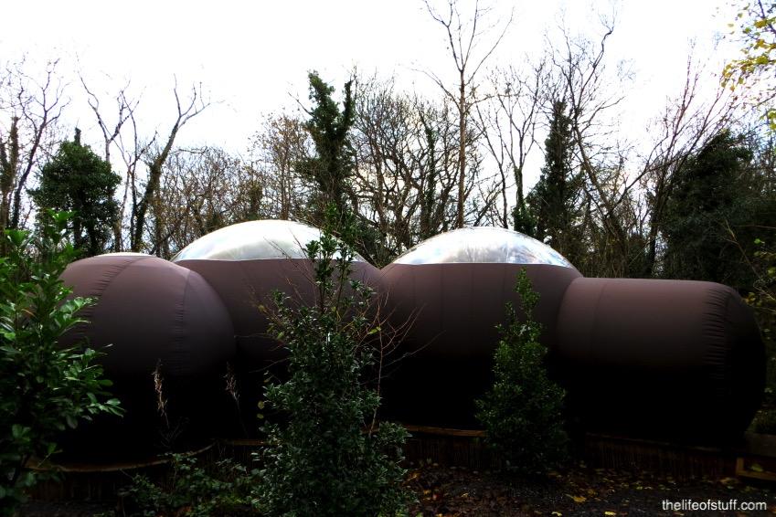 Stargazing Forest Domes at Finn Lough Resort, Fermanagh