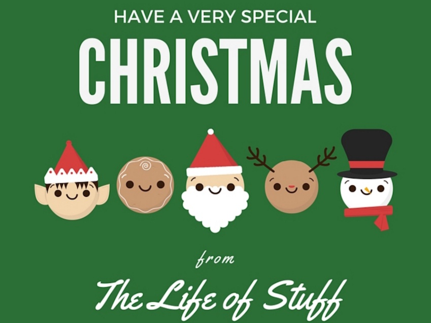 Happy Christmas 2015 from The Life of Stuff