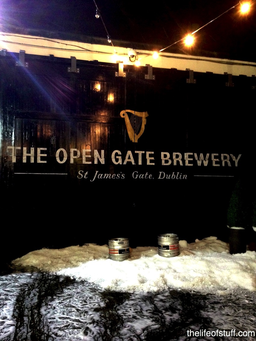 The Open Gate Brewery St James S Gate Dublin