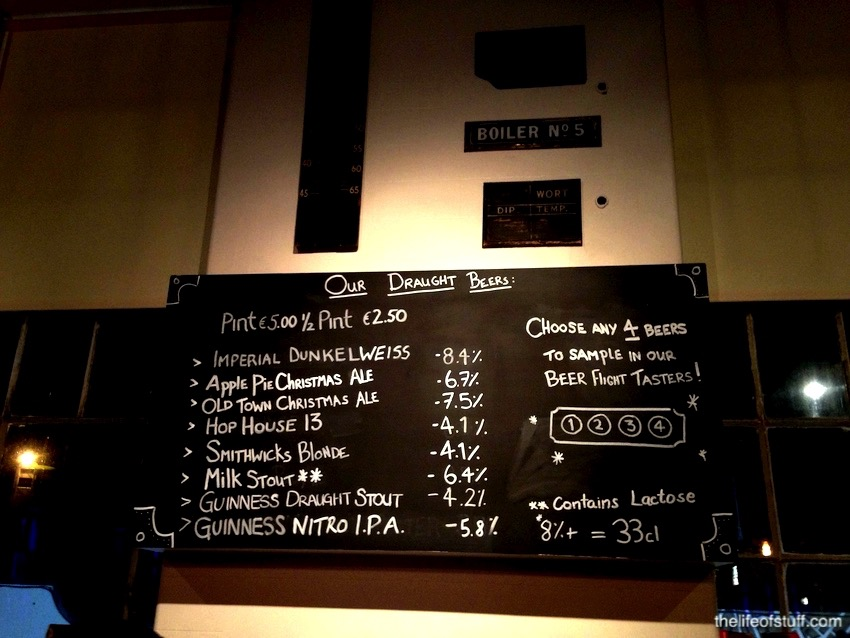 The Open Gate Brewery - St. Jame's Gate, Dublin
