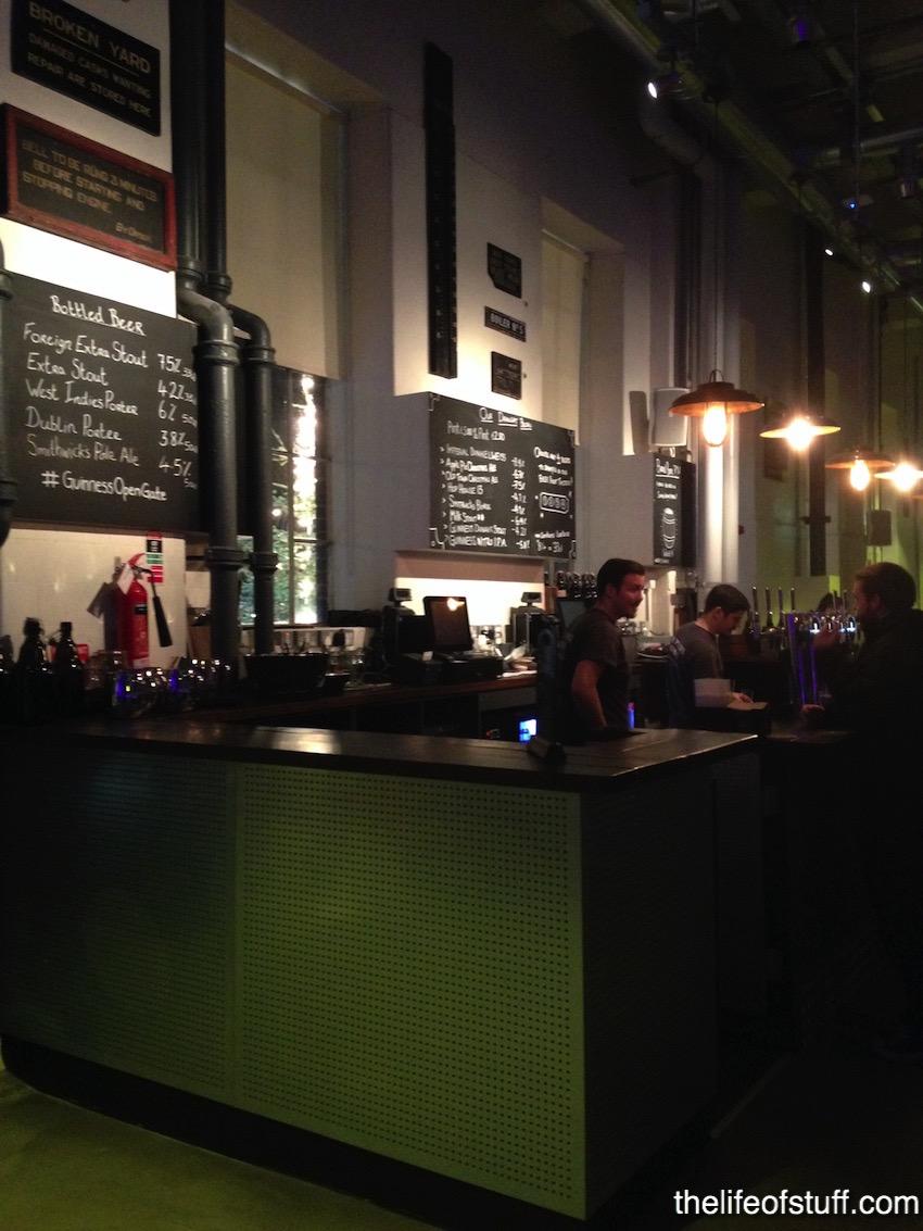 The Open Gate Brewery - St. James's Gate, Dublin Ireland