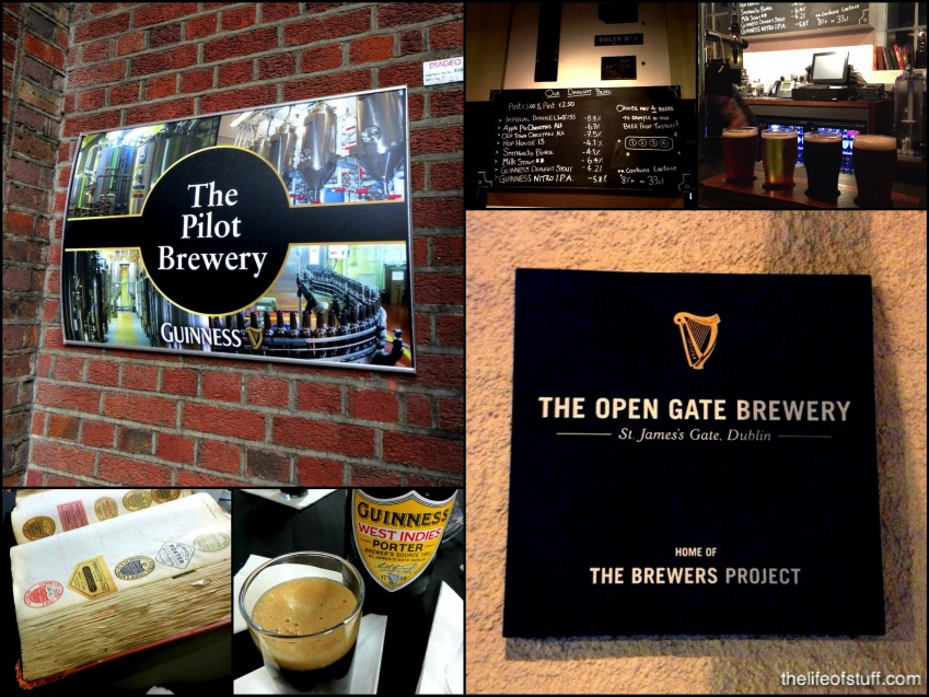 The Open Gate Brewery - St. James's Gate, Dublin Ireland