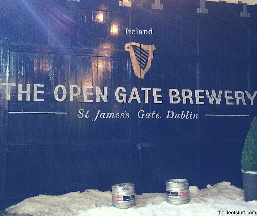 The Open Gate Brewery - St. James's Gate, Dublin