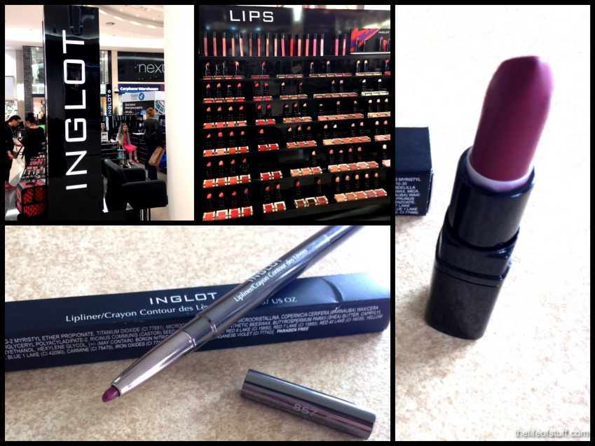 Best Beauty Buy in a While - Inglot Matt Lipstick & Lipliner FM