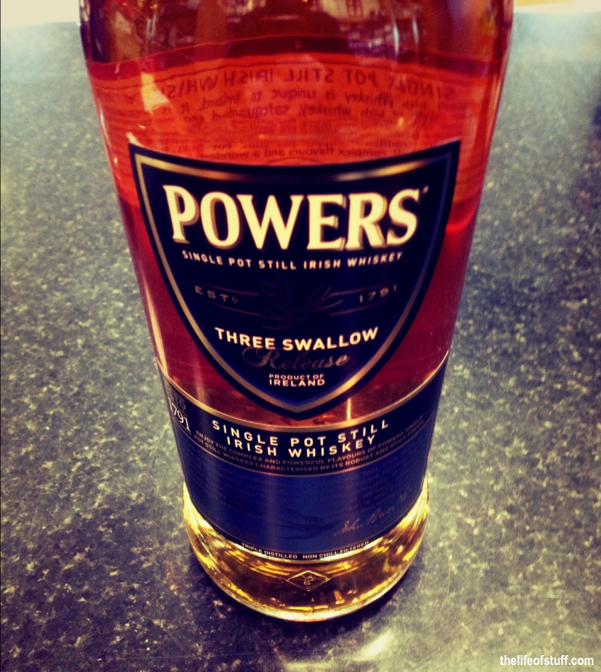 Bevvy of the Week - Powers Whiskey, Three Swallow Release