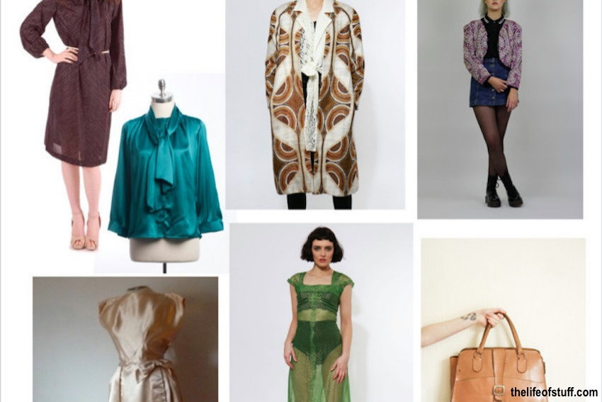 Geek Chic Spring Summer 2016 via Irish Vintage Shops