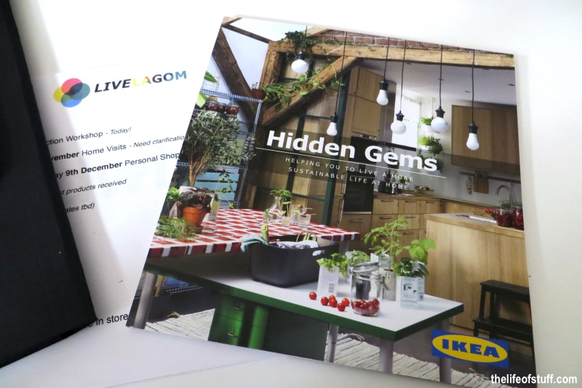 IKEA, Live LAGOM, My New Sustainable Lifestyle - The Start