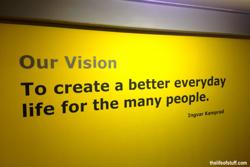 """ikea vision """"to create a better everyday life for the many people"""", this is the ikea vision our business idea is """"to offer a wide range of well-designed, functional home furnishing products at prices so low that as many people as possible will be able to afford them."""