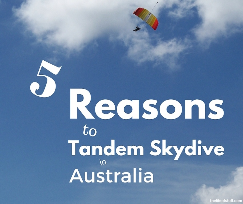 Five Reasons to Tandem Skydive in Australia