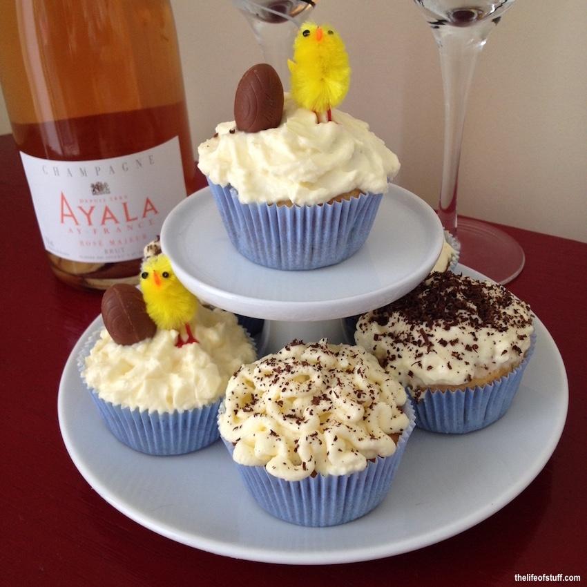 An Easy Easter Lemon Cupcake Recipe