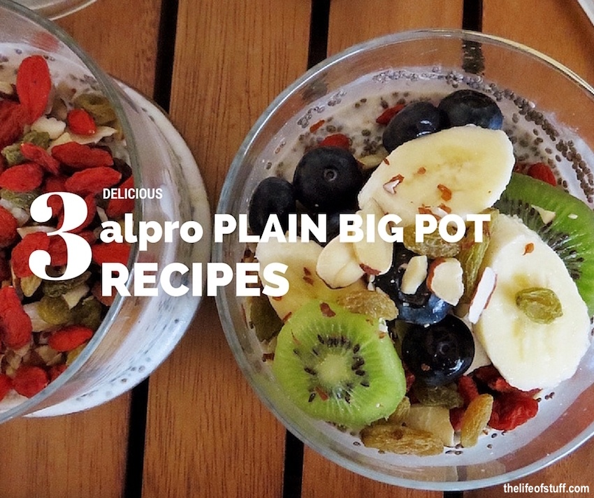 Make Over Your Morning with my Alpro Plain Big Pot Recipes
