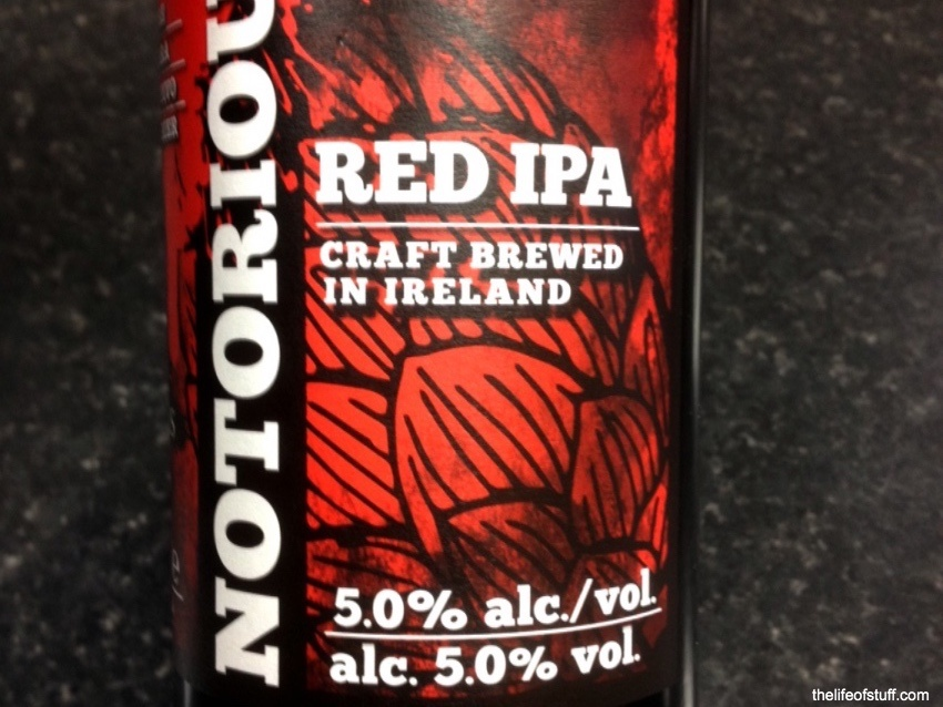 Bevvy of the Week - O'Hara's, Notorious Red IPA