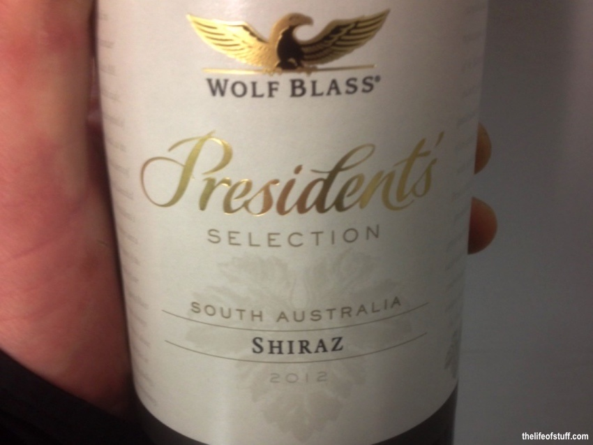 Bevvy of the Week - Wolf Blass Presidents Selection Shiraz