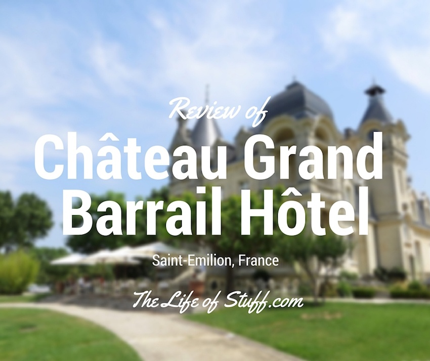 Chateau Grand Barrail Hotel, Saint-Emilion, France.