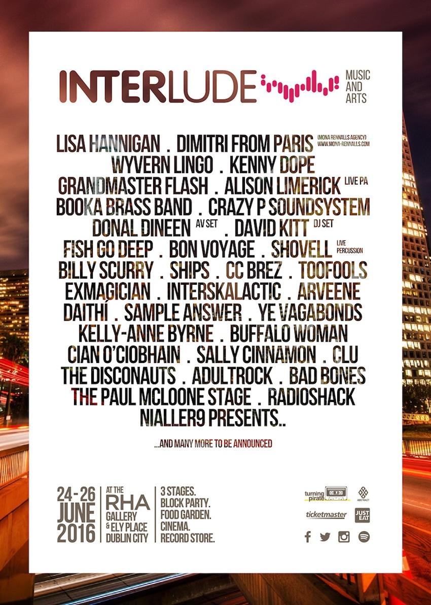 INTERLUDE Music & Arts Festival - Dublin June 2016