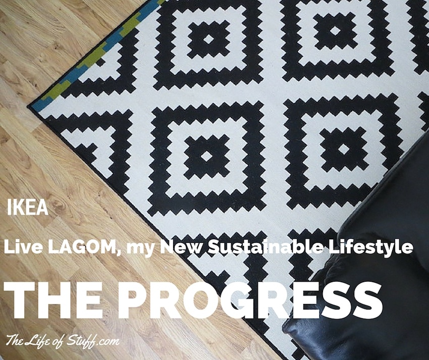 IKEA, Live LAGOM, my New Sustainable Lifestyle - The Progress