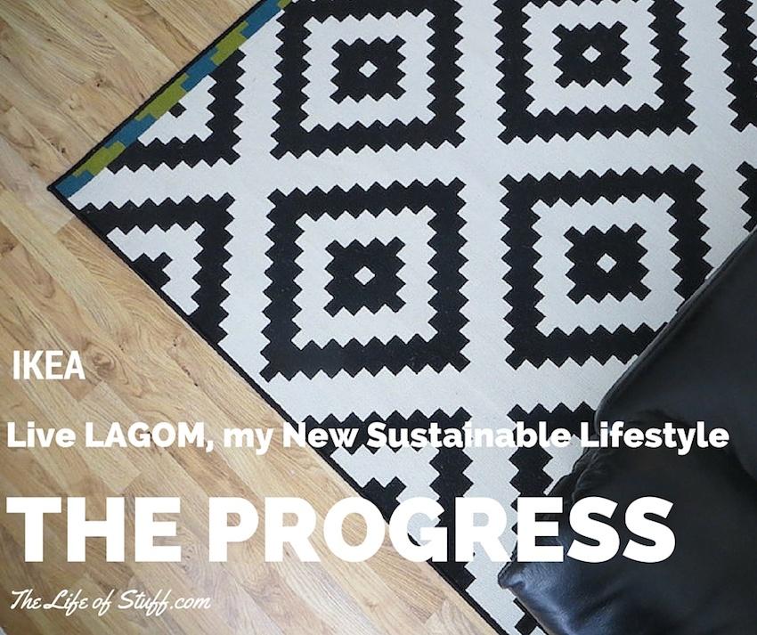 IKEA, Live LAGOM, my New Sustainable Lifestyle - The Progress