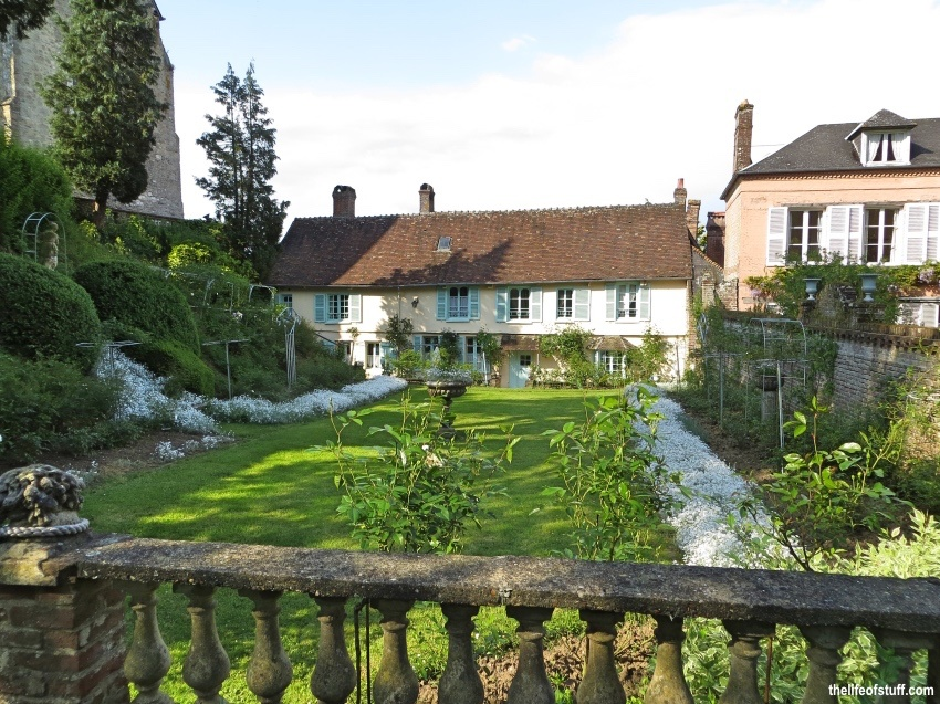 Beautiful Gerberoy, North of Paris - Oise, Picardy, France