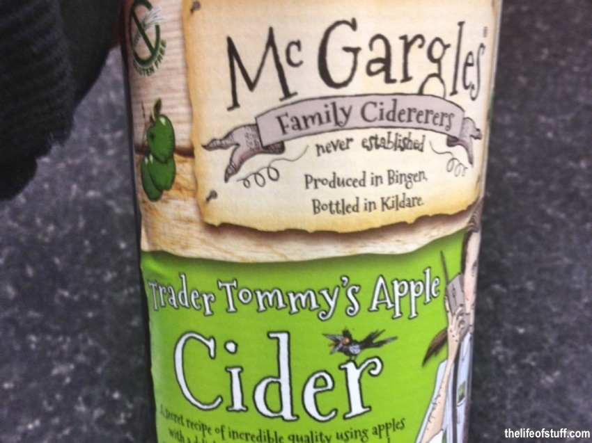Bevvy of the Week - McGargles Trader Tommy's Apple Cider