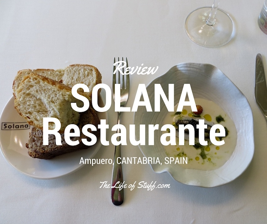 Michelin Starred Dining at Solana Restaurante, Ampuero, Cantabria