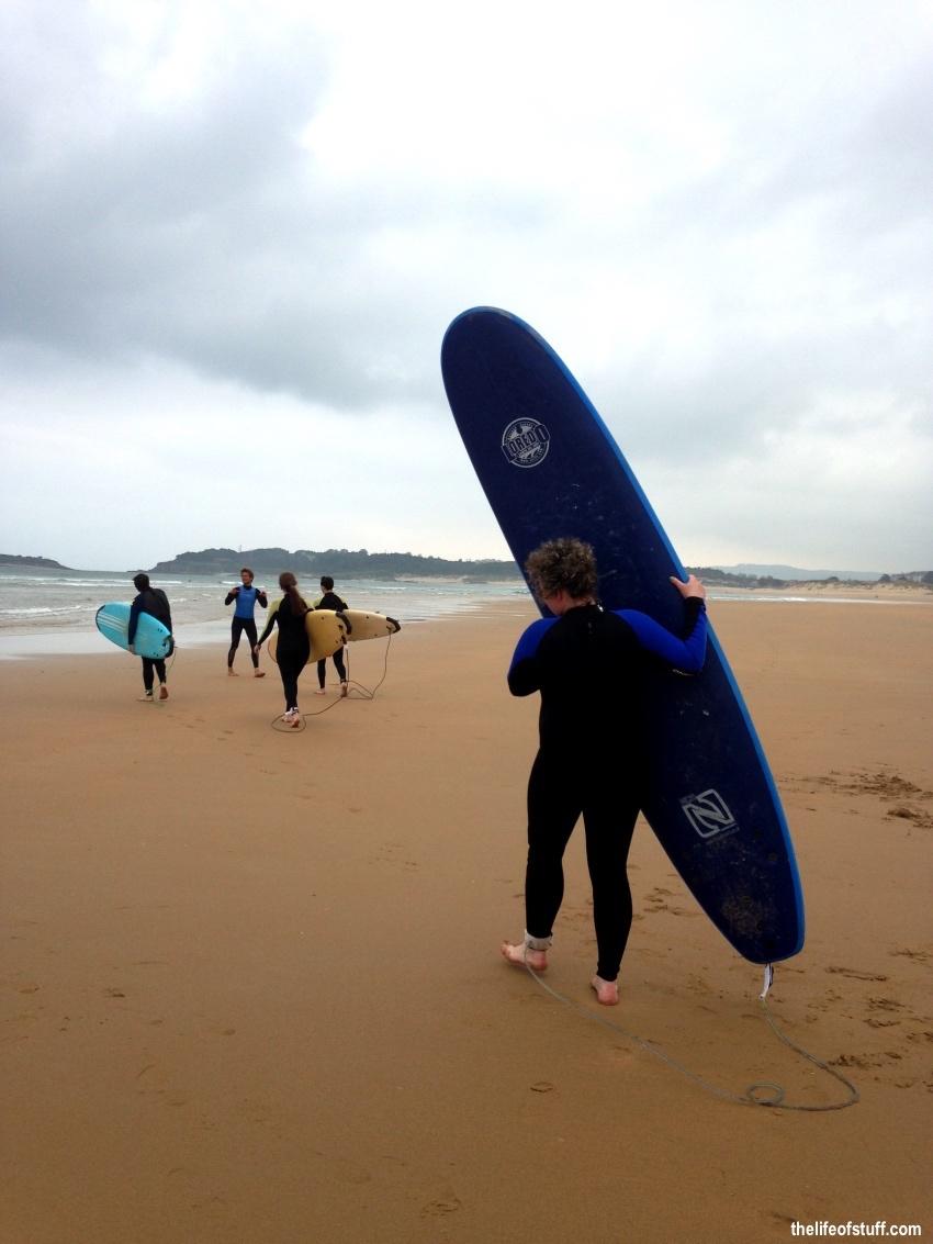 From Santander City to Somo Beach, Cantabria Spain