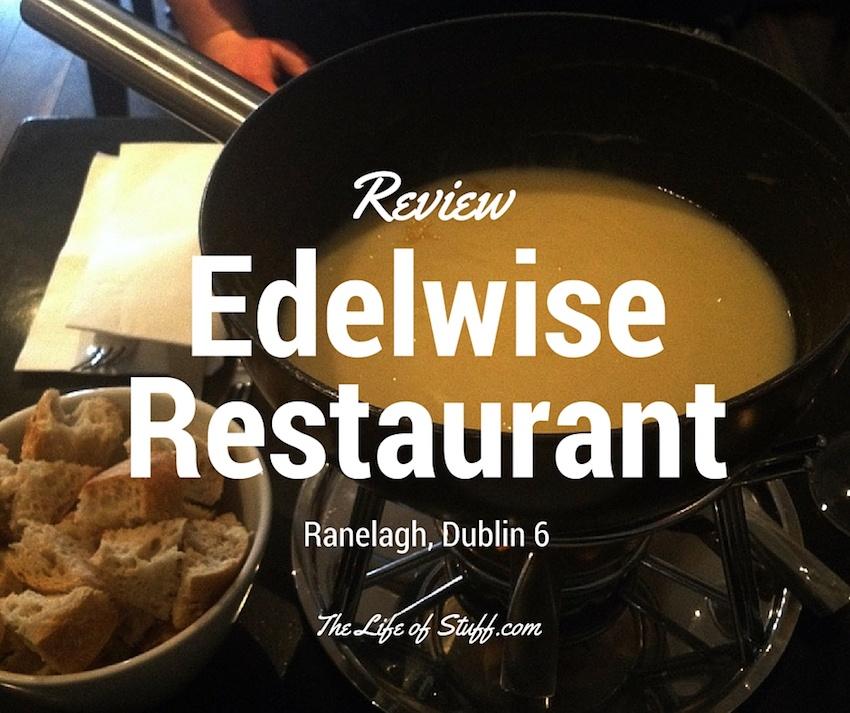 Edelwise Restaurant, 51 Ranelagh, Dublin 6