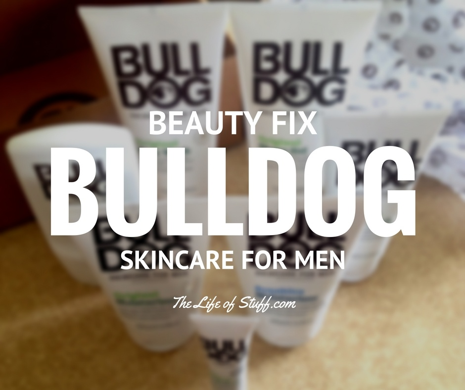 Beauty Fix - Animal Friendly, Bulldog Skincare for Men