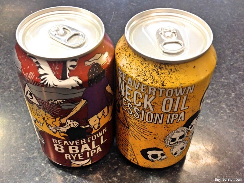 Bevvy of the Week - Beavertown 8 Ball Rye and Neck Oil Session IPA