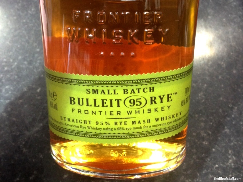 Bevvy of the Week - Bulleit Rye Frontier Whiskey