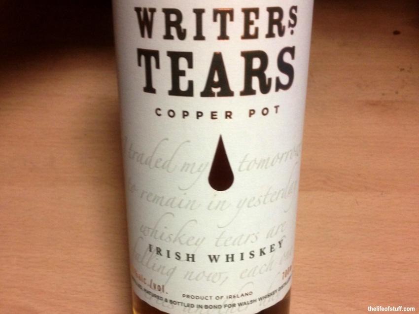 Bevvy of the Week - Writers Tears Irish Whiskey