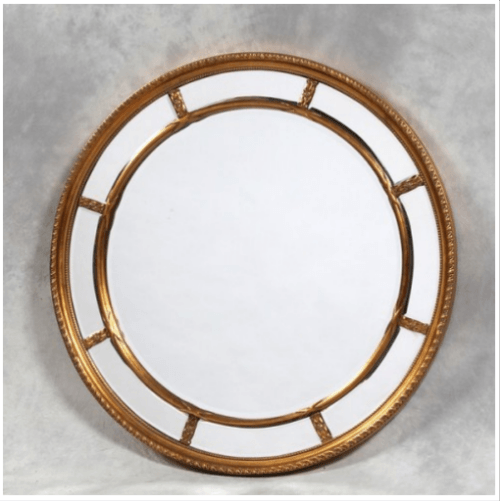 Home Style Statement Round Mirrors for Your Bathroom