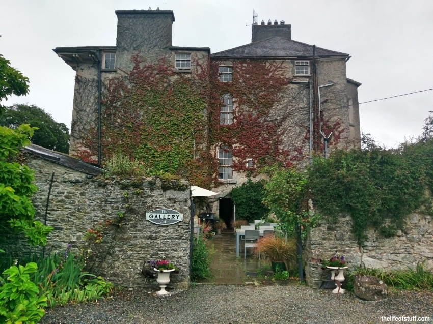 Lunch at The Gallery Café, Burtown House, Athy, Kildare