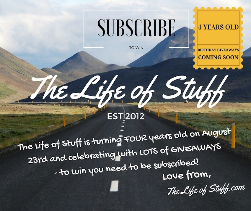 The Life of Stuff - Happy Fourth Birthday Celebration Giveaways