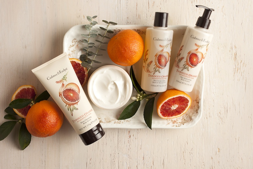 Win a Crabtree & Evelyn Tarocco Orange, Eucalyptus and Sage Hamper