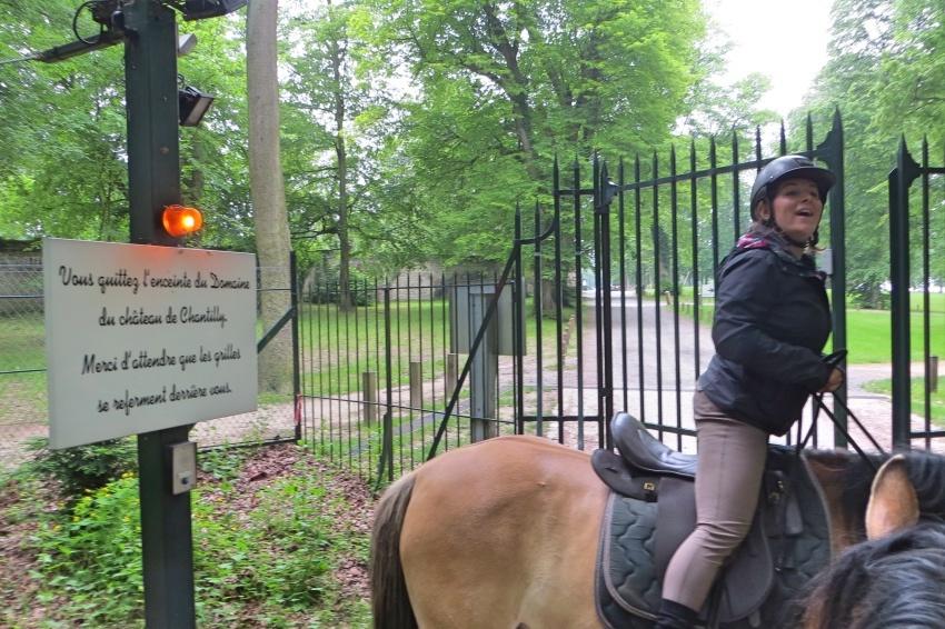 Northern Paris, Horse Riding to Château de Chantilly