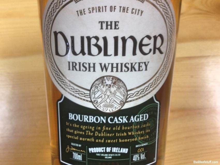 Bevvy of the Week - Bourbon Cask Aged: The Dubliner Irish Whiskey