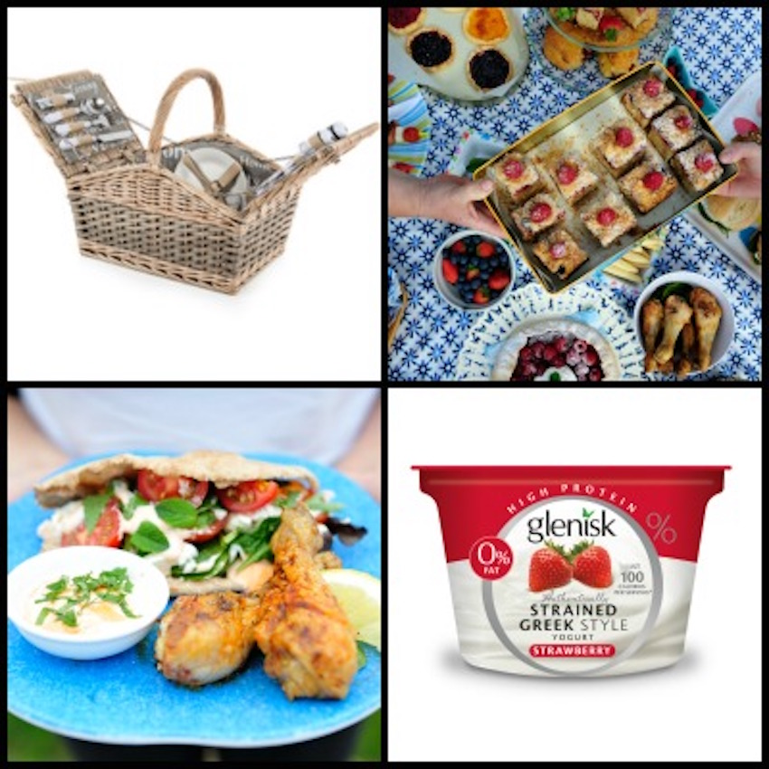 Win a Glenisk Picnic Hamper packed with Goodies worth €125