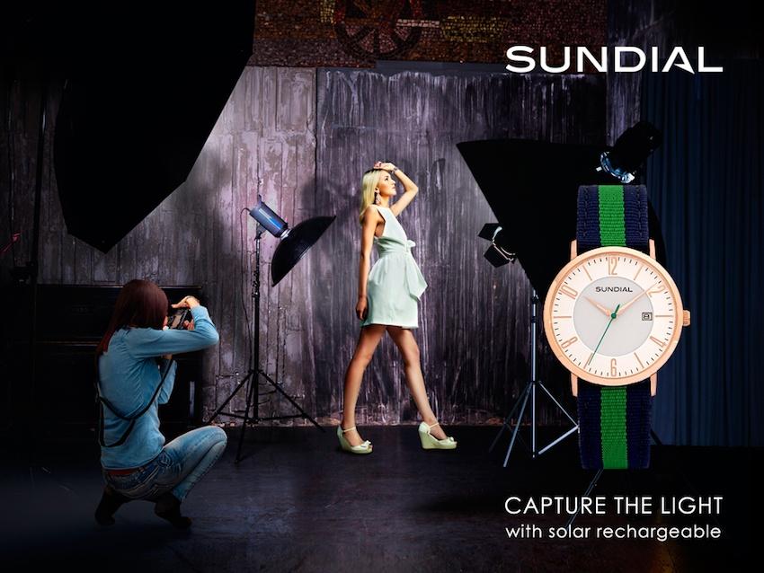 Win a Stunning Solar-Powered Sundial Watch worth €175