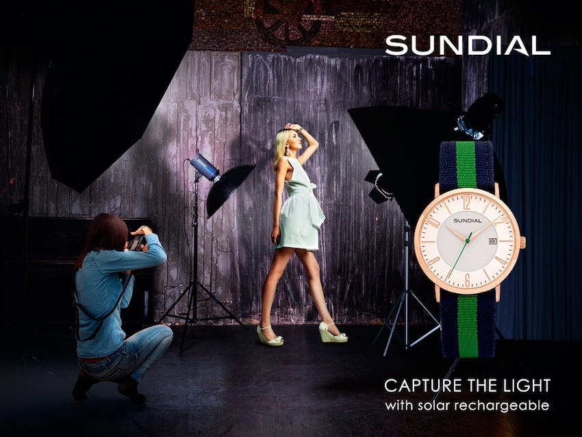 Win a Stunning Solar-Powered Sundial Watch worth €175