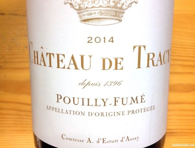 Bevvy of the Week - Château de Tracy, Pouilly Fume 2014