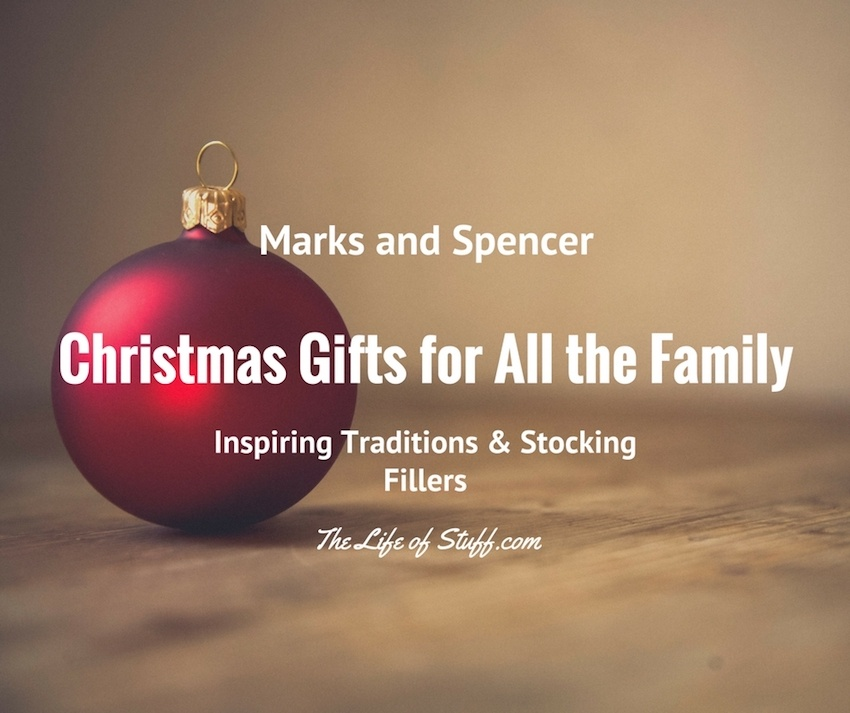 Marks and Spencer Inspiring Traditional Christmas Gifts for All the Family