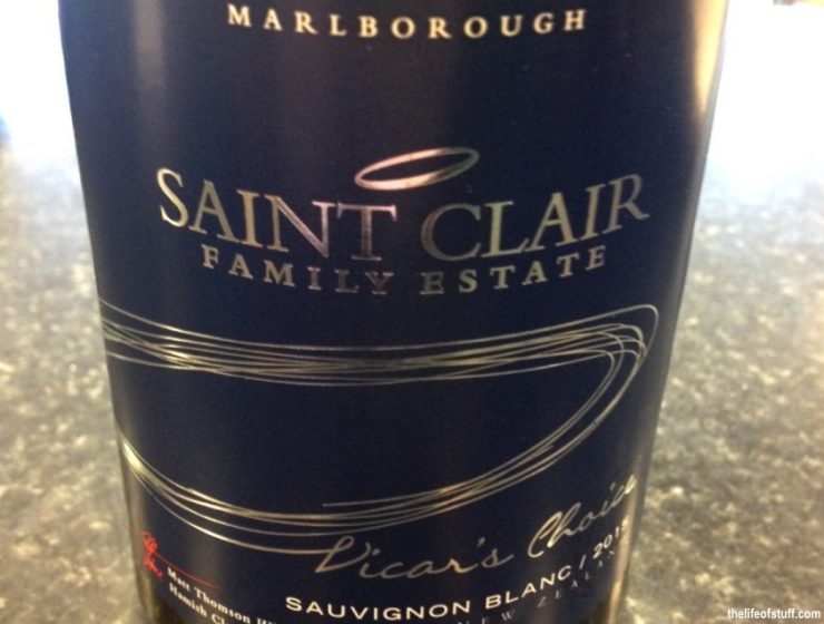 Bevvy of the Week - Saint Clair Vicar's Choice Sauvignon Blanc