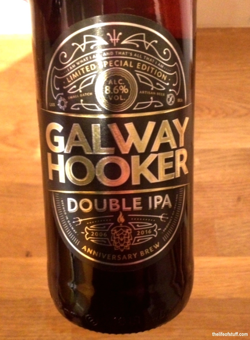 Bevvy of the Week - Galway Hooker Double IPA 'Anniversary Brew'